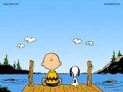Friends on dock